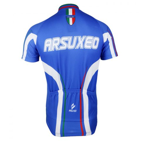 Shop Arsuxeo ZSS54 Cycling Short Sleeve Suit for Men -   Mobile