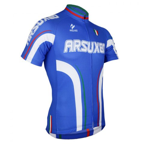 Fancy Arsuxeo ZSS54 Cycling Short Sleeve Suit for Men -   Mobile