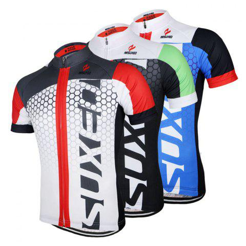 Fashion Arsuxeo ZSS52 Cycling Short Sleeve Suit for Men -   Mobile
