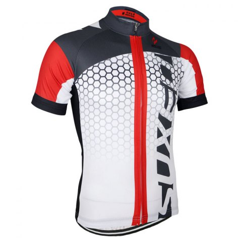Trendy Arsuxeo ZSS52 Cycling Short Sleeve Suit for Men -   Mobile