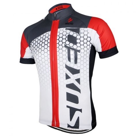 Shop Arsuxeo ZSS52 Cycling Short Sleeve Suit for Men -   Mobile