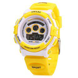 SMAEL 0704 Sports Digital Children Watch 50M Water Resistant