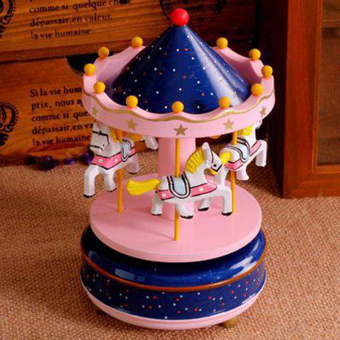 Hot Romantic Carousel Wind-up Music Box Home Decoration / Collection