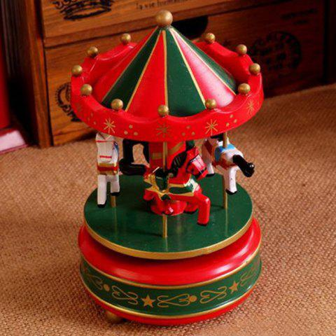 Outfit Romantic Carousel Wind-up Music Box Home Decoration / Collection