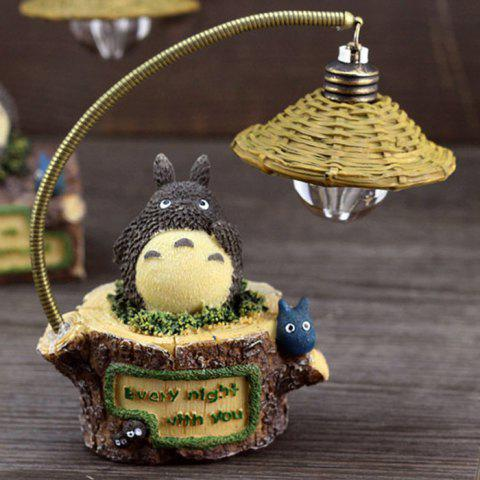Cheap Creative Micro Landscape Toy with Night Light Polyresin Home Decoration Accessory