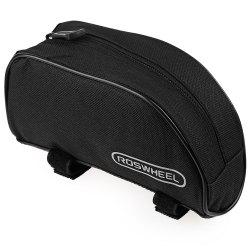 Roswheel Outdoor Mountain Bicycle Cycling Frame Front Top PVC Tube Bag Bike Pouch