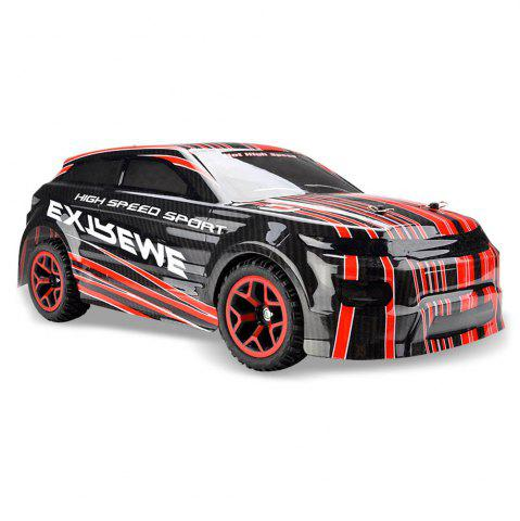 Trendy ZC X - Knight 333 - GS08B 1 / 18 Full Scale 4WD 2.4G 4 Channel High Speed Crossing Car RTR - RED  Mobile