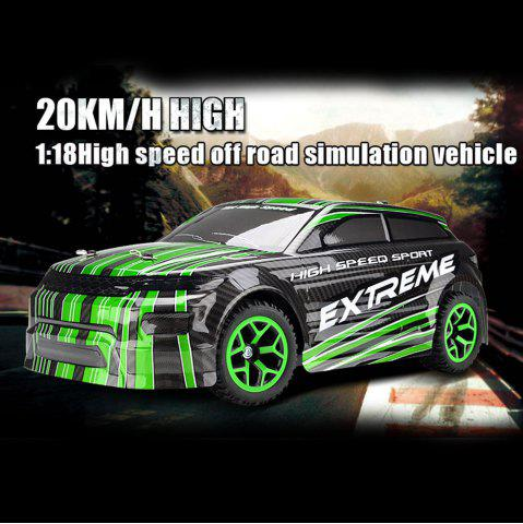 Cheap ZC X - Knight 333 - GS08B 1 / 18 Full Scale 4WD 2.4G 4 Channel High Speed Crossing Car RTR - GREEN  Mobile