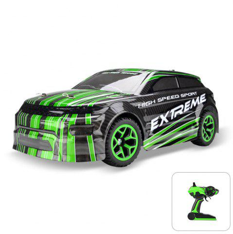 Affordable ZC X - Knight 333 - GS08B 1 / 18 Full Scale 4WD 2.4G 4 Channel High Speed Crossing Car RTR - GREEN  Mobile