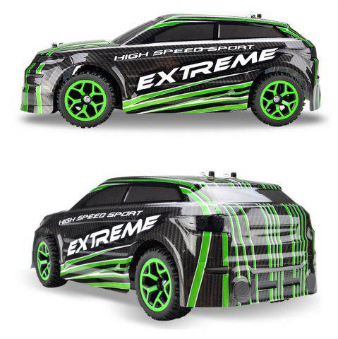 Trendy ZC X - Knight 333 - GS08B 1 / 18 Full Scale 4WD 2.4G 4 Channel High Speed Crossing Car RTR - GREEN  Mobile