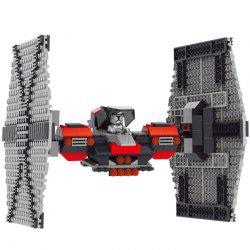 358Pcs Military Fighter Building Block Educational Toy for Intelligence Development Birthday Gift