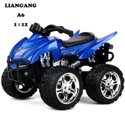 Buy LIANGANG A6 4D 1 / 12 Full Scale 2.4G 6 Channel Realistic Motorcycle RTR - Blue