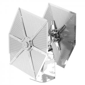 3D Metal Special Forces TIE Fighter Module Metallic Building Puzzle Educational DIY Assembling Kit -