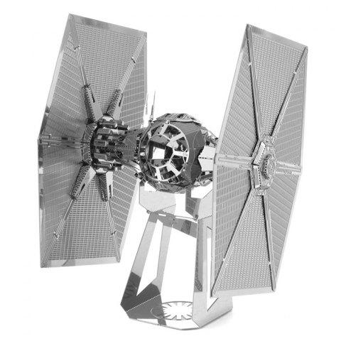 Chic 3D Metal Special Forces TIE Fighter Module Metallic Building Puzzle Educational DIY Assembling Kit