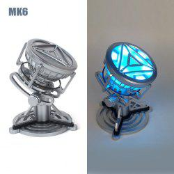 1 : 1 Scale Cosplay Prop Arc-reactor Desk Lamp Decorative Action Figure Sleeping Light -