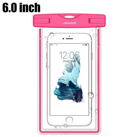 Outfit USAMS YD002 6.0 inch TPU IPX8 Waterproof Protective Case for Smart Phones Glow in the Dark Design