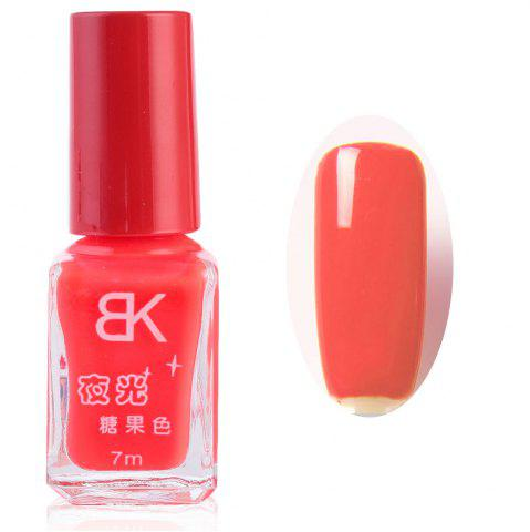 Best 7ml bNoctilucent Fluorescent Lacquer Neon Glow In Dark Nail Polish