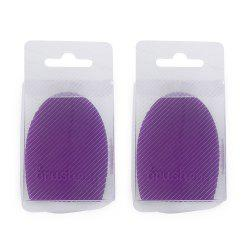 2pcs Makeup Brush Cleaner Finger Silicone Glove Cleaning Tool -
