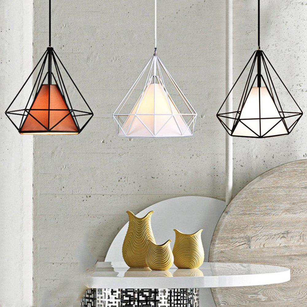 Coffee Diamond Style Wire Cage Pendant Light Droplight Dining Table ...
