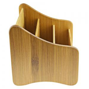 Multi-functional Bamboo Storage Box Decorative Gadgets Container Home Art Craft -