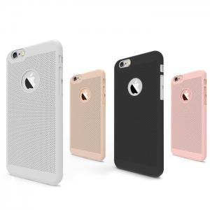 Breathable Protective Back Cover Case for iPhone 6 / 6S Soft Mobile Protector with Nano Hole -