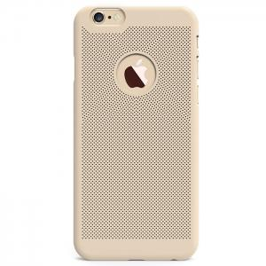 Breathable Protective Back Cover Case for iPhone 6 Plus / 6S Plus Soft Mobile Protector with Nano Hole -