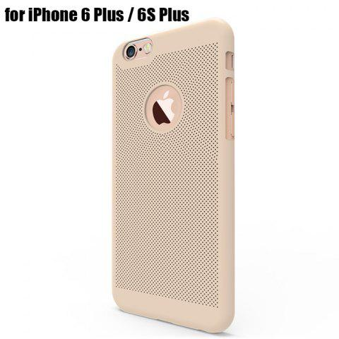 Outfit Breathable Protective Back Cover Case for iPhone 6 Plus / 6S Plus Soft Mobile Protector with Nano Hole