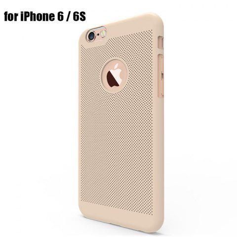 Unique Breathable Protective Back Cover Case for iPhone 6 / 6S Soft Mobile Protector with Nano Hole