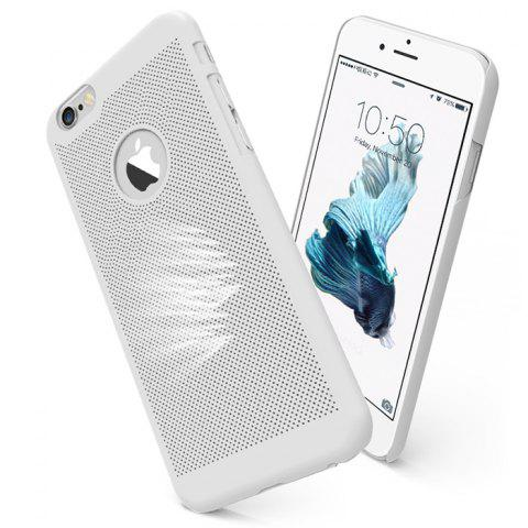 Shops Breathable Protective Back Cover Case for iPhone 6 / 6S Soft Mobile Protector with Nano Hole - SILVER  Mobile