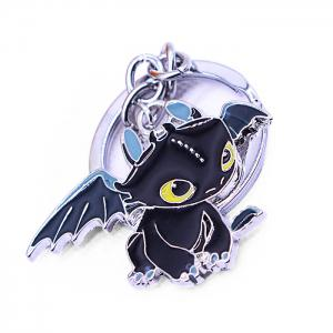 Key Chain Hanging Pendant Dragon Shape Keyring Movie Product for Bag Decoration -