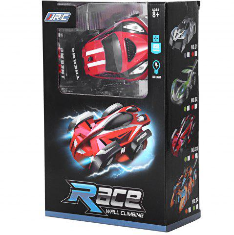 Fancy JJRC Q2 Infrared RC Wall Creeping Car Climbing Vehicle Toy - RED  Mobile