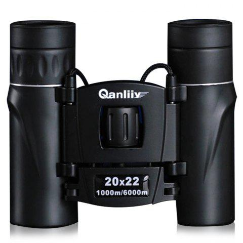 Cheap QANLIIY 20x22 Binocular BAK - 4 Prism with Center Focus Waterproof Function -   Mobile