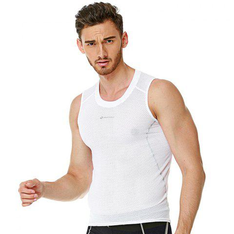 Cheap NUCKILY MO002 Men Fitness Shapewear Vest for Cycling -   Mobile