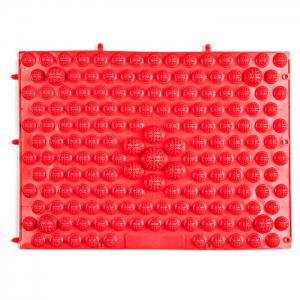 TPE Acupressure Foot Massage Pad for Fitness Exercise - Red - One Size
