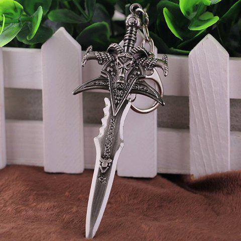 Discount Key Chain Sword Style Hanging Pendant Alloy Keyring Online Video Game Toy for Bag Decoration