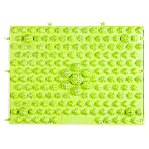 Online TPE Acupressure Foot Massage Pad for Fitness Exercise GREEN