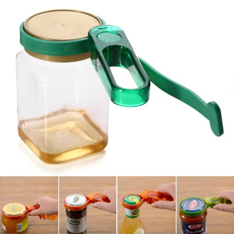 Outfit Multi-functional Can Opener Bottle Canned Cap Opening Tool