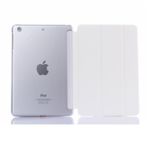WHITE ASLING PC Cover Back Case for iPad Mini   Mini2   Mini3