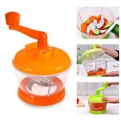 Multi-functional Vegetable Chopper Kitchen Fruit Food Shredder Helper - COLORMIX