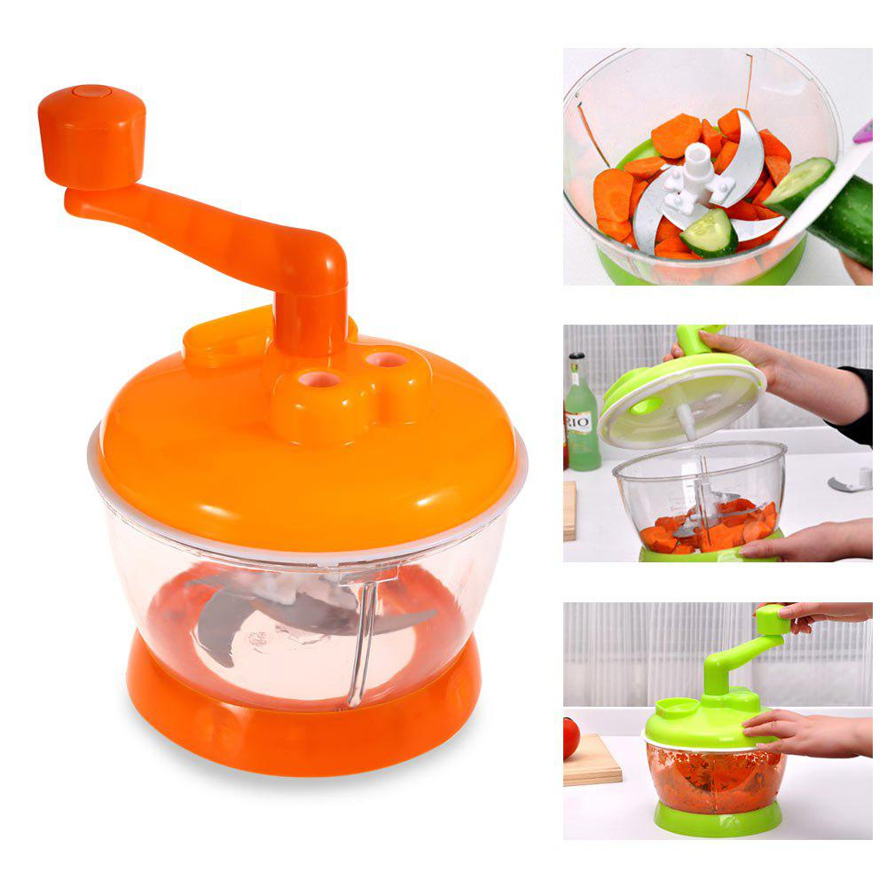 Multi-functional Vegetable Chopper Kitchen Fruit Food Shredder HelperHOME<br><br>Color: COLORMIX; Type: Other Kitchen Accessories; Material: PP,Stainless Steel;