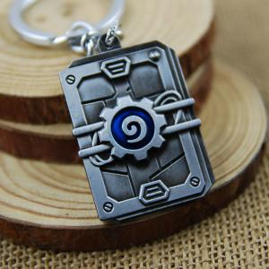 Key Chain Hanging Pendant Alloy Keyring Online Video Game Toy for Bag Decoration -