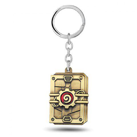 Outfit Key Chain Hanging Pendant Alloy Keyring Online Video Game Toy for Bag Decoration