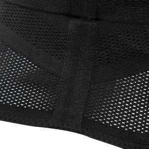 Female One-piece Fat Thin Belt Spandex Fiber Made for Sports - BLACK XL