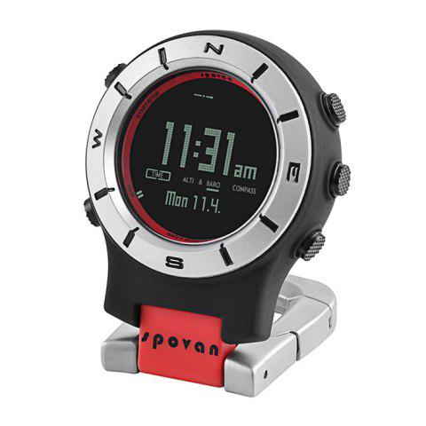 Store Spovan Element 2 Multi-function Outdoor Sports Climbing Mountaineering Watch Thermometer Altimeter Barometer Compass