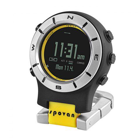 Affordable Spovan Element 2 Multi-function Outdoor Sports Climbing Mountaineering Watch Thermometer Altimeter Barometer Compass
