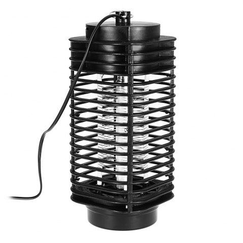 Trendy Electric Photocatalyst Mosquito Killer Lamp LED Flying Bug Traps Light - BLACK  Mobile