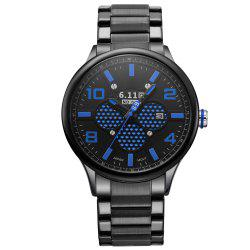 6.11 GD008 Photoelectric Conversion Male Watch Japan Movt Mineral Glass Date Display