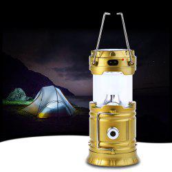 BRELONG Lampe de Camping Solaire LED Rechargeable 4W 350LM 6 x SMD 3528 -