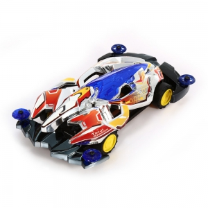 AULDEY 88512 Racing Car ABS Educational Birthday Present with Brushed Motor -