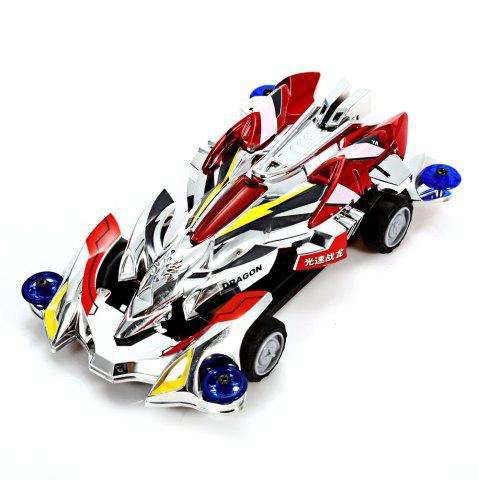 Fancy AULDEY 88010 Racing Car Kit ABS Building Brick Educational Birthday Present with Brushed Motor